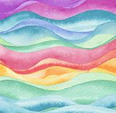 Abstract wave watercolor paint background. Paper texture royalty free stock photo