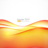 Abstract Wave  White Background. Vector Illustration Royalty Free Stock Image