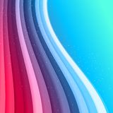 Abstract waved lines  background Royalty Free Stock Images