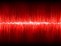 Abstract waveform  background. EPS 8 Royalty Free Stock Photography