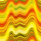 Abstract waves. Seamless background texture with an abstract bright waves, wallpaper pattern Stock Illustration