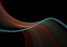 Abstract Waves Background Royalty Free Stock Images
