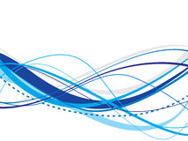 Abstract waves background. This image is a illustration of abstract waves background stock illustration
