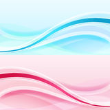 Abstract waves background Stock Photo