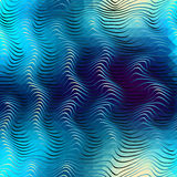 Abstract waves pattern Royalty Free Stock Photos