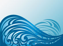 Abstract Waves Vector Background. Abstract Waves Background. Vector Illustration vector illustration