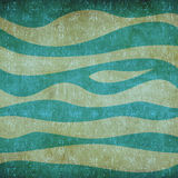 Abstract waves vintage pattern Royalty Free Stock Image