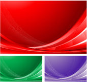 Abstract waving background Stock Images