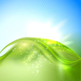 Abstract waving background Royalty Free Stock Photos