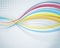 Abstract Wavy Background. An illustration of an abstract wavy background Stock Images