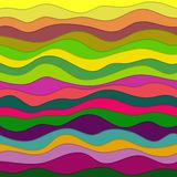 Abstract Wavy Background Royalty Free Stock Image