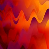 Abstract Wavy Background Royalty Free Stock Photography