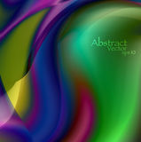 Abstract wavy background eps10 Stock Image