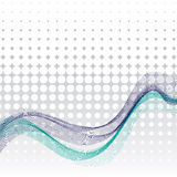 Abstract wavy background Stock Photos