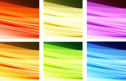 Abstract wavy background vector illustration