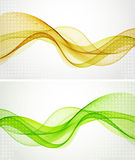 Abstract wavy background. The illustration contains the image of Abstract wavy background stock illustration