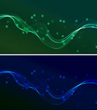 Abstract wavy background. The illustration contains the image of Abstract wavy background vector illustration