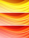 Abstract wavy background Stock Image