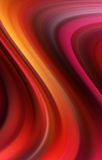 Abstract wavy background in red and yellow tones Stock Photos