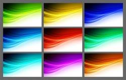 Abstract wavy background Vector design Stock Photos