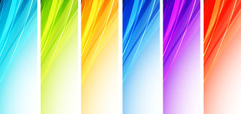 Abstract wavy background Vector design Royalty Free Stock Image