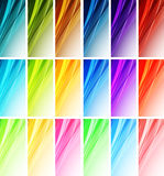 Abstract wavy background Vector design Royalty Free Stock Photo