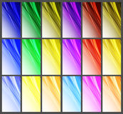 Abstract wavy background Vector design Stock Images