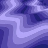 Abstract Wavy Blue Pattern  Visual Illusion of Movement. Abstract Background Stock Image