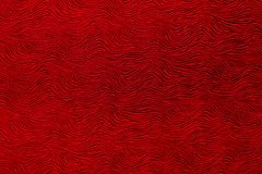 Abstract wavy filigree red pattern. Texture with abstract wavy filigree red pattern in closeup royalty free stock image