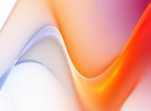 Abstract wavy illustration background Royalty Free Stock Images