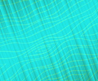 Abstract wavy lines background. Blue . Vector illustration. Stock Photos