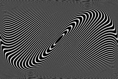 Abstract wavy lines design. Vector Illustration