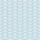 Abstract wavy lines pattern Royalty Free Stock Photos