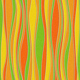 Abstract wavy pattern - seamless background - citrus texture Stock Photo