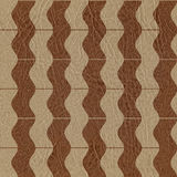 Abstract wavy pattern - seamless background - leather surface Stock Photo