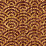 Abstract wavy pattern - seamless background - wooden surface Royalty Free Stock Photos