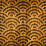 Abstract wavy pattern - seamless background - wooden texture Stock Image