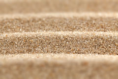 Abstract wavy sand surface. Stock Photo