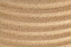 Abstract wavy sand surface. Stock Image