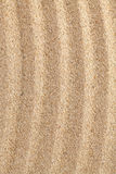 Abstract wavy sand surface. Royalty Free Stock Photography