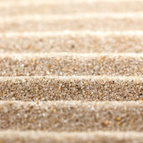 Abstract wavy sand surface. Royalty Free Stock Image