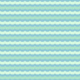 Abstract wavy seamless pattern,  background Stock Image