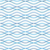 Wavy pattern. Abstract wavy seamless pattern, geometric background Royalty Free Stock Images