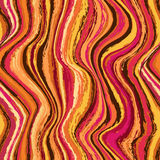 Abstract wavy seamless pattern Stock Photography