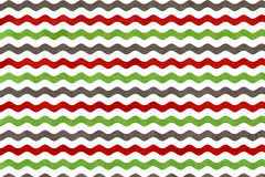 Abstract wavy striped background. Abstract watercolor green, dark red and grey wavy striped background. Wavy, striped pattern Stock Photo