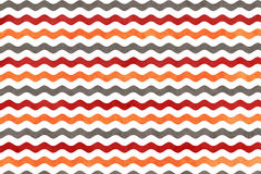 Abstract wavy striped background. Abstract watercolor orange, dark red and grey wavy striped background. Wavy, striped pattern Royalty Free Stock Photos