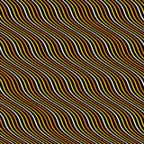 Abstract wavy striped pattern in yellow, orange, white colors royalty free stock photo