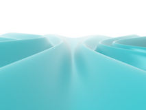 Abstract wavy surface, 3D Stock Photo