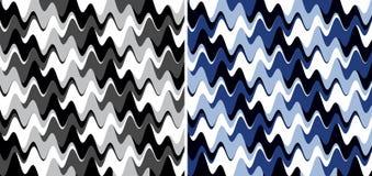 Abstract wavy texture stock illustration