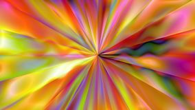 Abstract wavy trippy psychedelic tunnel of creation - 4K seamless loop motion background animation